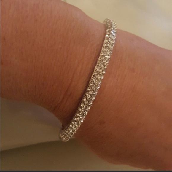 Nolan Miller Jewelry - NWOT Nolan Miller Pave Bangle Bracelet